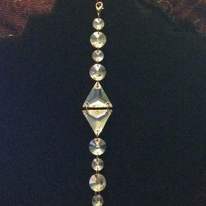 Jewelry - NWOT linked geometric stone bracelet